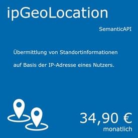 Symbolbild für  IP Geolocation - ein Service von curryAPI