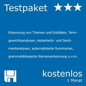 Teaser für kostenloses Testpaket Natural Language Processing