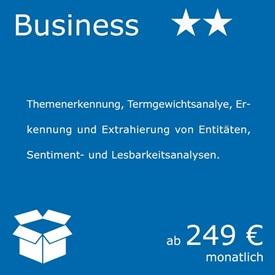 Natural Language Processing - Business Paket